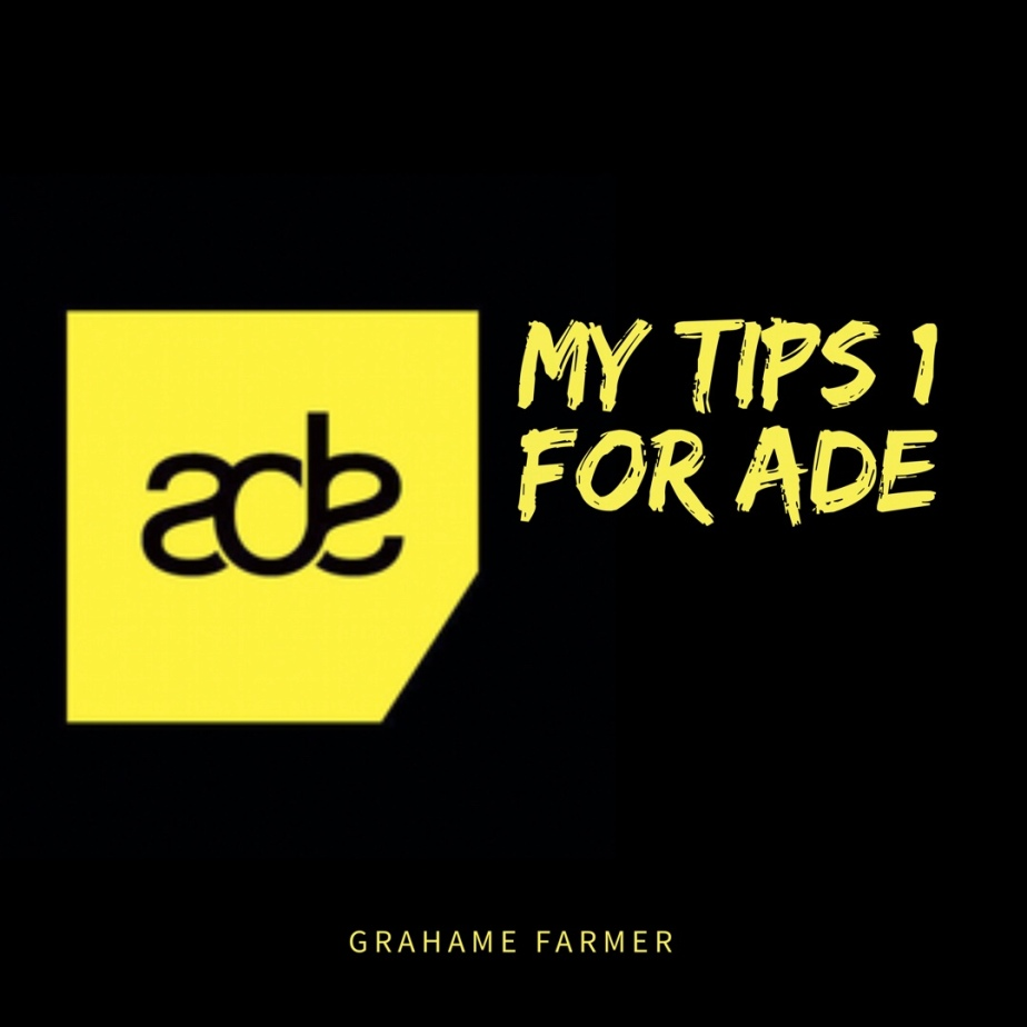 First Tips for Amsterdam Dance Event