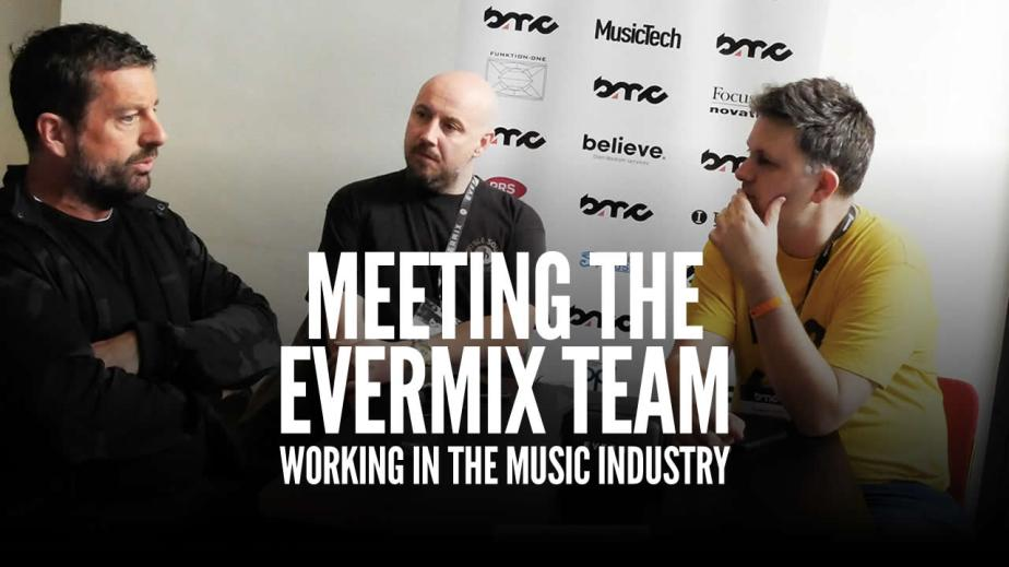 Working In The Music Industry: MeetingEvermix
